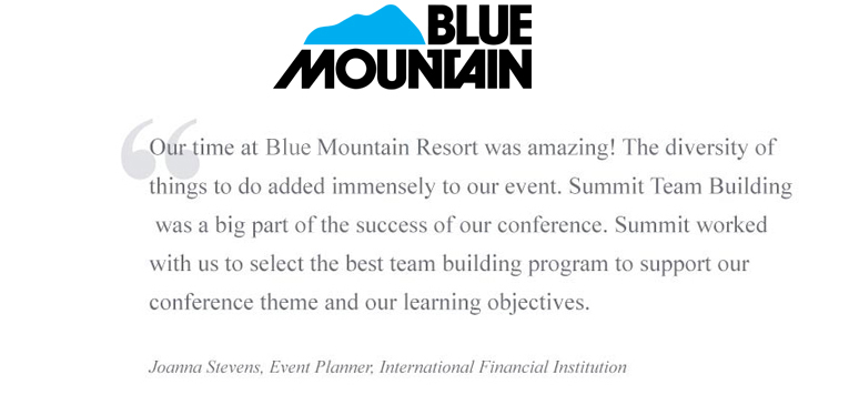 Blue Mountain Team Building