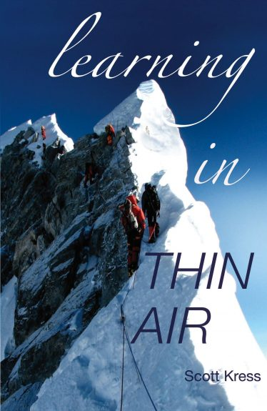 Learning in thin air by Mr. Scott Kress - professional speaker at Summit Team Building.