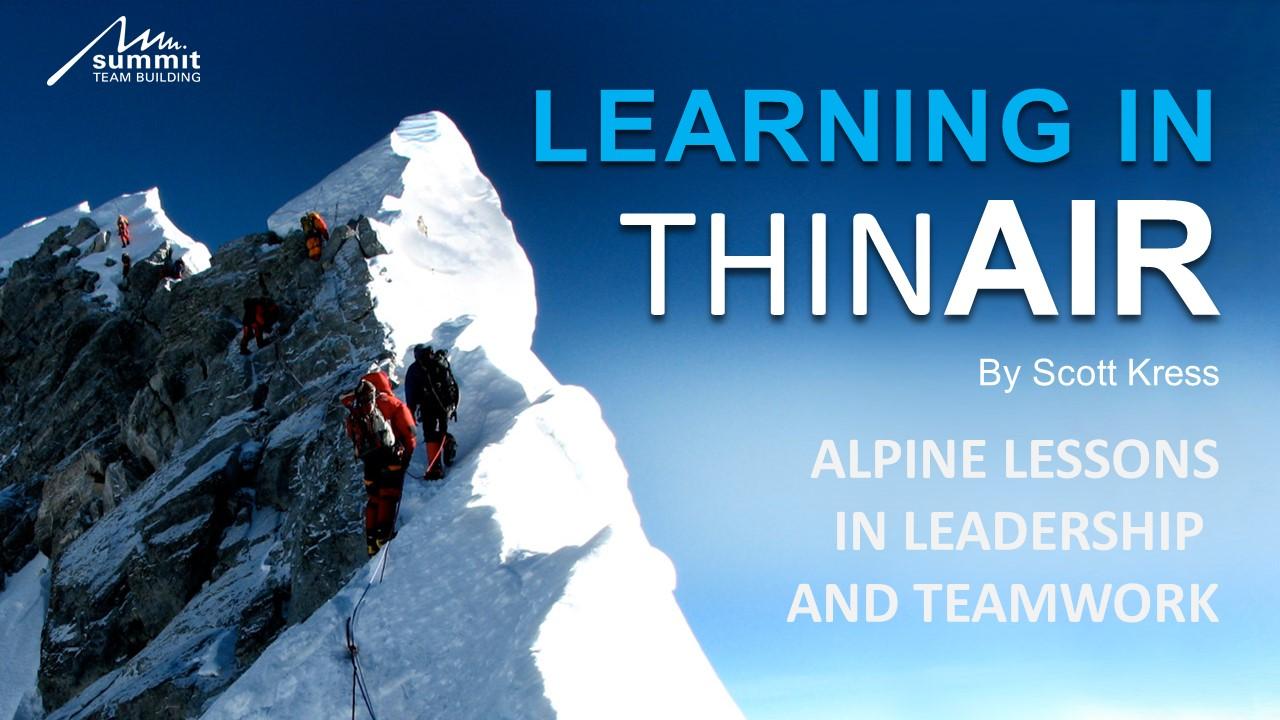 Everest Keynote Program - Scott Kress